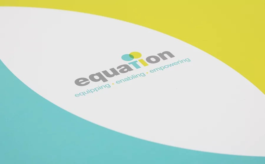relaunch as equation brand design