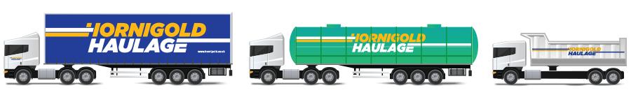 Hornigold Haulage Vehicle Livery