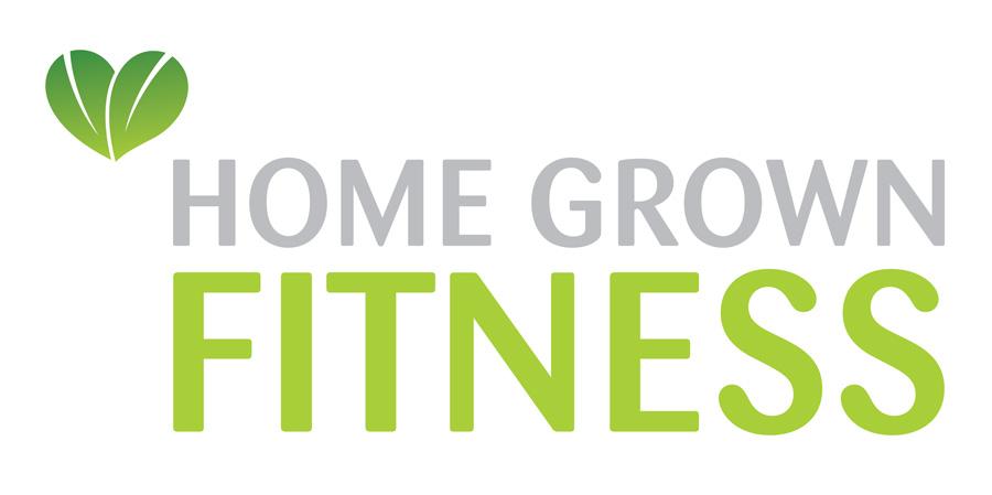 Home Grown Fitness Branding Design
