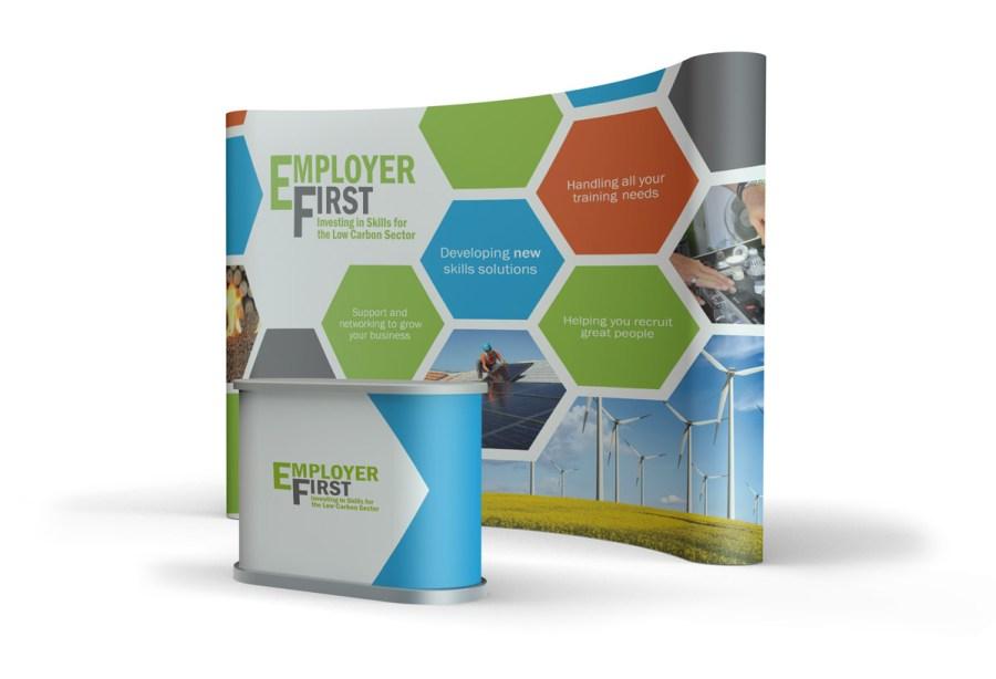 Employer FIrst Exhibition Design