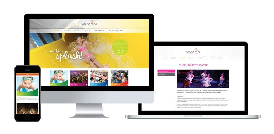 Magna Vitae Brand and Website Design