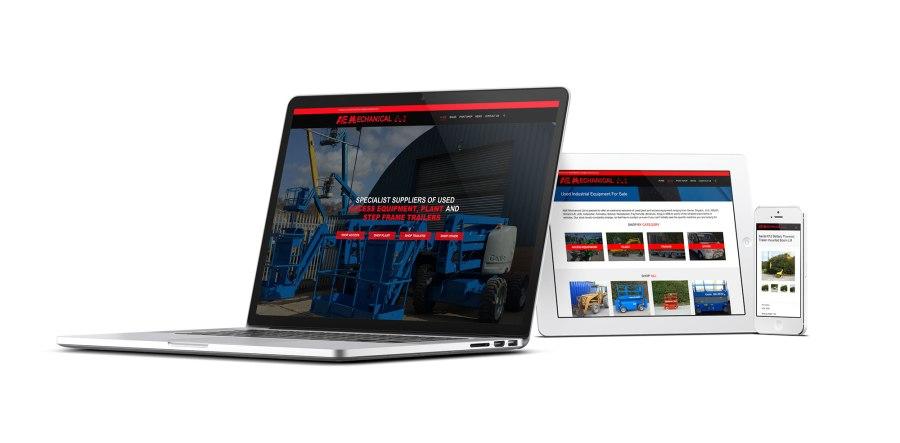 A&E Mechanical Website Design