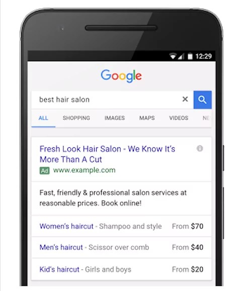 google adwords - digital marketing - fifteen