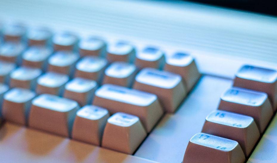 white mechanical keyboard