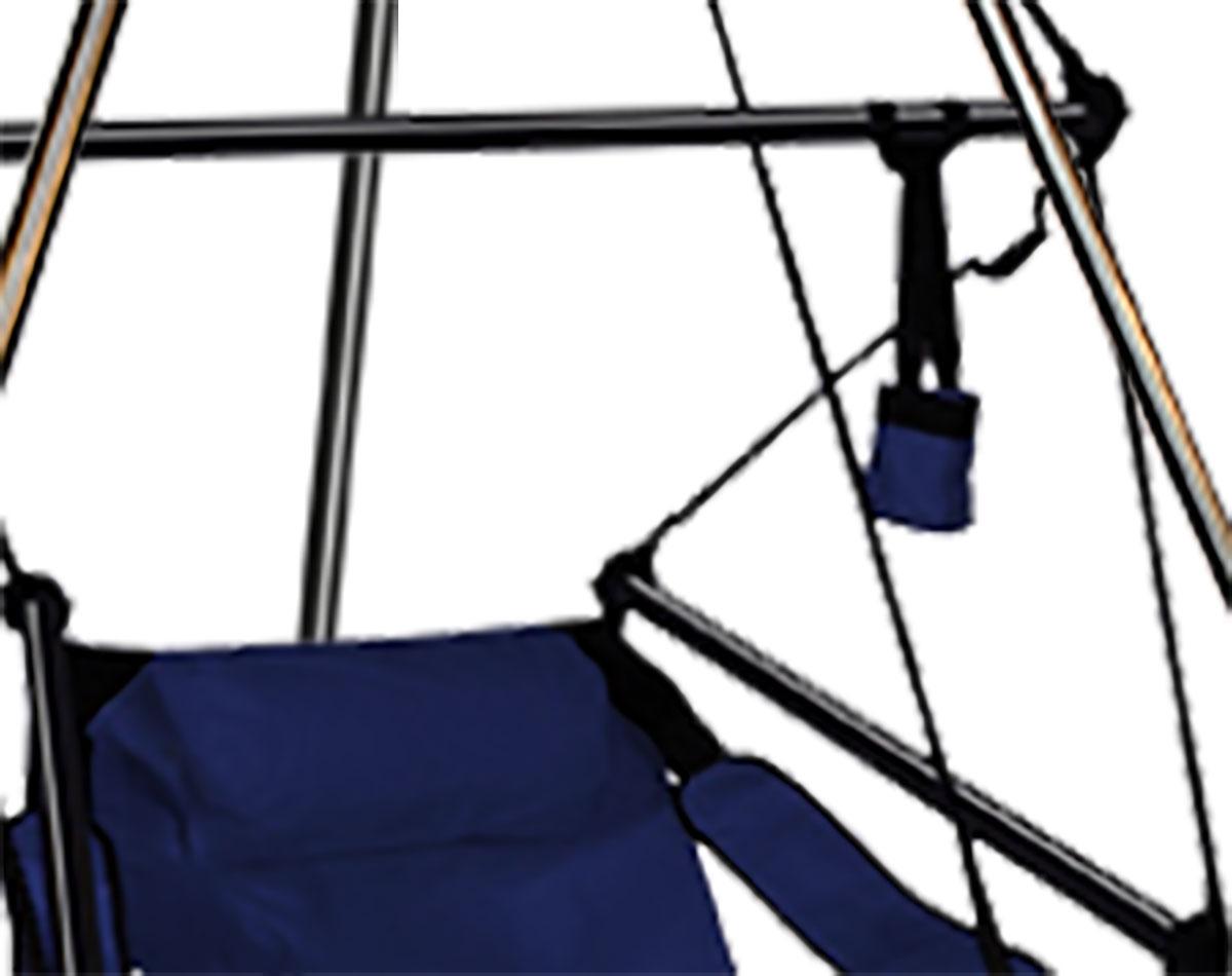 Hamilton Hammock Chair W Aluminum Dowels And Tripod