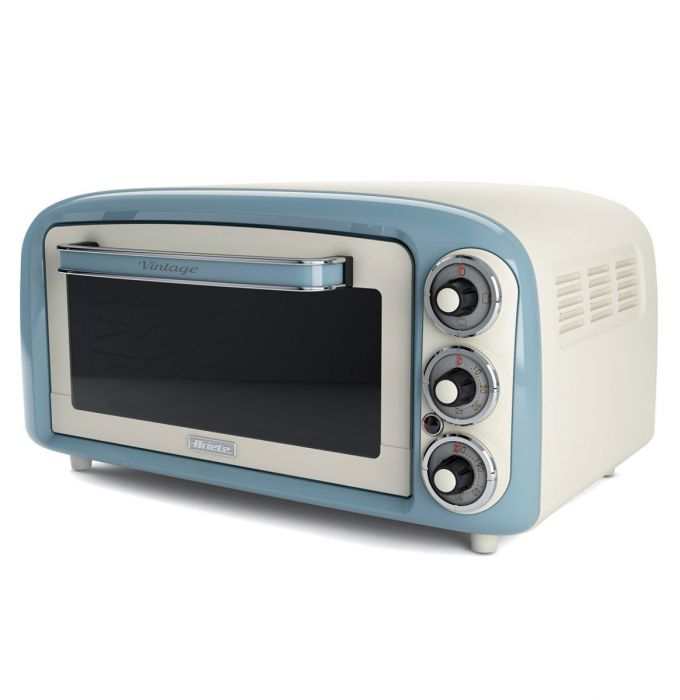ariete vintage oven blue 18 lt