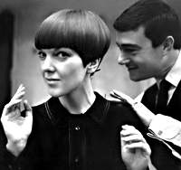 mary Quant and Vidal Sassoon