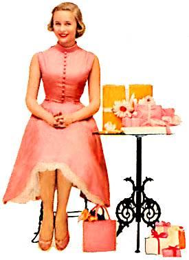 teen pink 1950s Mens Fashion
