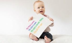 Γιατί πρέπει εξαρχής να μιλάτε στα μωρά σαν να είναι ενήλικες