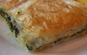 Πίτα νηστίσιμη παραδοσιακή με άγρια χόρτα