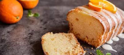 Νόστιμο κέικ πορτοκάλι με λίγες θερμίδες