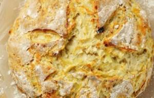 Ψωμί με κρεμμύδι και σκόρδο