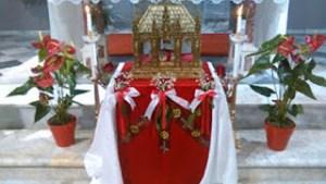 Η καθολική εκκλησία της Μυτιλήνης γιορτάζει τον Άγιο Βαλεντίνο