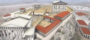 Συναρπαστική εικονική ξενάγηση στην Ακρόπολη του 5ου π.Χ. αι. ακριβώς όπως ήταν τότε!