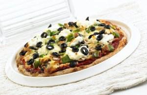 Πίτσα με γαλοπούλα και λαχανικά
