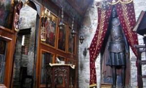 Το θαυματουργό ξύλινο άγαλμα του Αγίου Γεωργίου στην Καστοριά