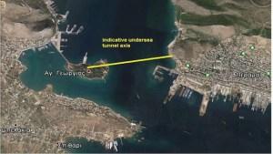 """Η κατασκευή του υπόγειου τούνελ της Σαλαμίνας και το πολυθεματικό πάρκο της Ναυμαχίας στο """"μικροσκόπιο"""" της Ε.Ε."""