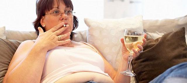Παραπανίσια κιλά και τσιγάρο μειώνουν το προσδόκιμο ζωής