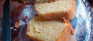 Κέικ γιαούρτι με λίγες θερμίδες