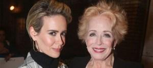 Τρελά ερωτευμένη με την 75χρονη σύντροφό της δηλώνει η Sarah Paulson