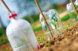 Πως να φτιάξετε αυτοποτιζόμενες γλάστρες από πλαστικά μπουκάλια