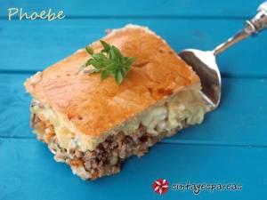 Read more about the article Κιμαδόπιτα με φύλλο σπιτικό και βελούδινη μπεσαμέλ