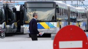 Στάση εργασίας στα λεωφορεία την Πέμπτη