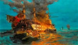 Κωνσταντίνος Κανάρης: Έτσι πυρπόλησε την ναυαρχίδα του Καρά Αλή στη Χίο