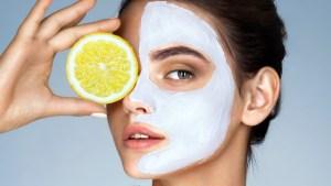 Αποτελεσματική μάσκα προσώπου με λεμόνι