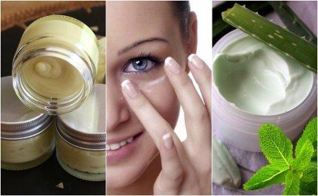 5 φυσικές κρέμες ματιών για υγιές δέρμα
