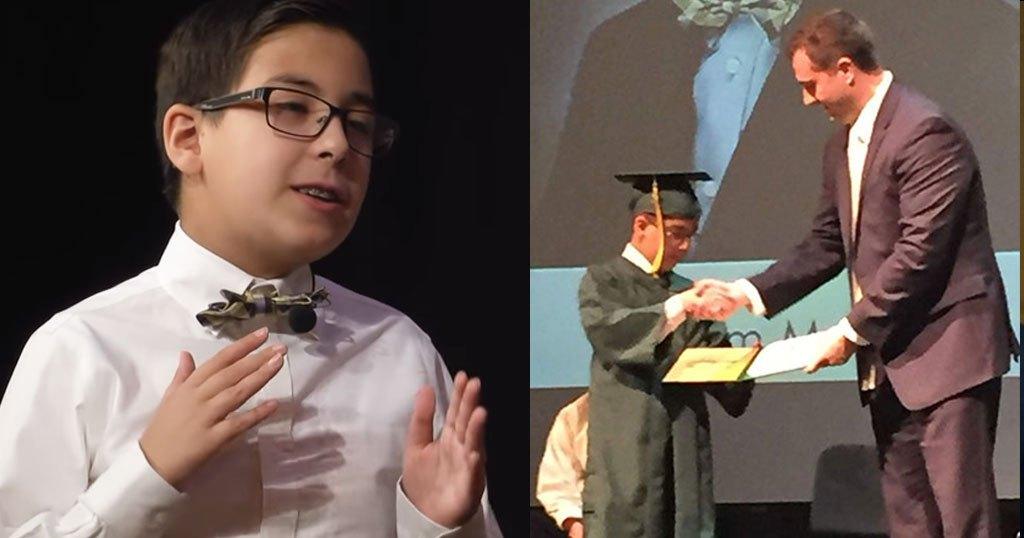 10χρονο παιδί-θαύμα από την Κάλυμνο με δείκτη ευφυΐας 200 μπήκε σε Πανεπιστήμιο και μας βάζει τα γυαλιά!!!-ΦΩΤΟ