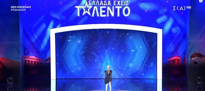 Ελλάδα έχεις ταλέντο: Η 10χρονη Αριάδνη που μάγεψε τους κριτές!