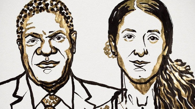 Tο Νόμπελ Ειρήνης στον Ντένις Μουκουέγκε και τη Νάντια Μουράντ
