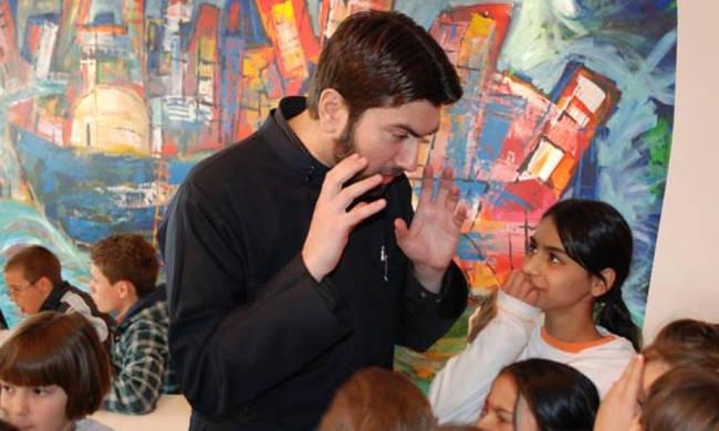Ο πατέρας Αντώνιος κέρδισε το βραβείο του Καλύτερου Ευρωπαίου Πολίτη