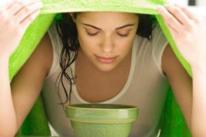 Ατμόλουτρο με πράσινο τσάι