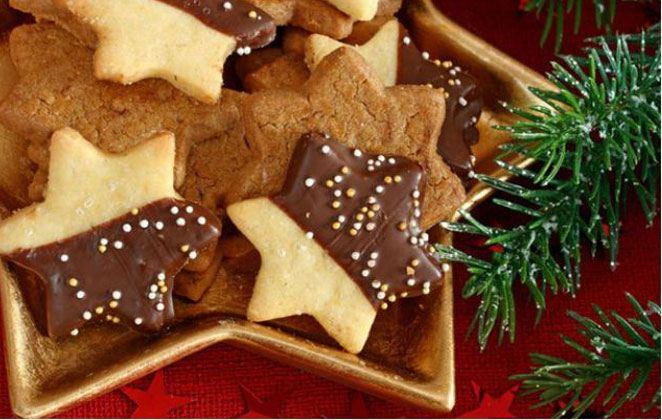 Φτιάξε τα πιο νόστιμα Χριστουγεννιάτικα μπισκοτάκια με σοκολάτα!