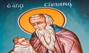 26 Νοεμβρίου: Εορτή Αγίου Στυλιανού του Παφλαγόνος