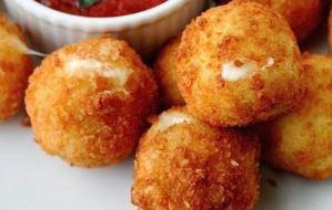 Κροκέτες πατάτας στο φούρνο και όχι στο τηγάνι