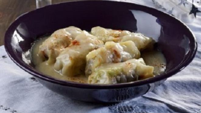 Λαχανοντολμάδες με μοσχαρίσιο και χοιρινό κιμά