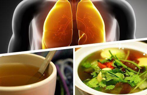 Σπιτικό σιρόπι για το βήχα και την απομάκρυνση των φλεγμάτων από τους πνεύμονες