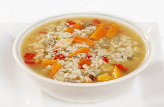 Ανακούφιση από τη διάρροια:Σούπα με ρύζι και καρότο