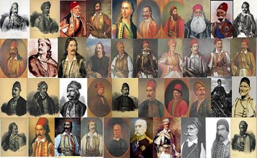 Οι ήρωες της Ελληνικής Επανάστασης