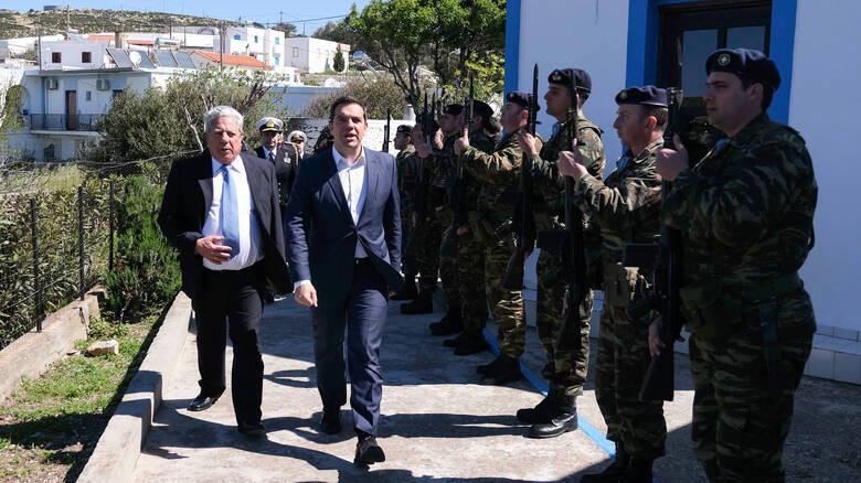 Read more about the article Τουρκικά μαχητικά παρενόχλησαν το ελικόπτερο του πρωθυπουργού