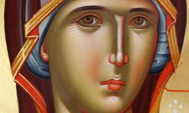 Προσευχή Στην Παναγία την Αμόλυντη