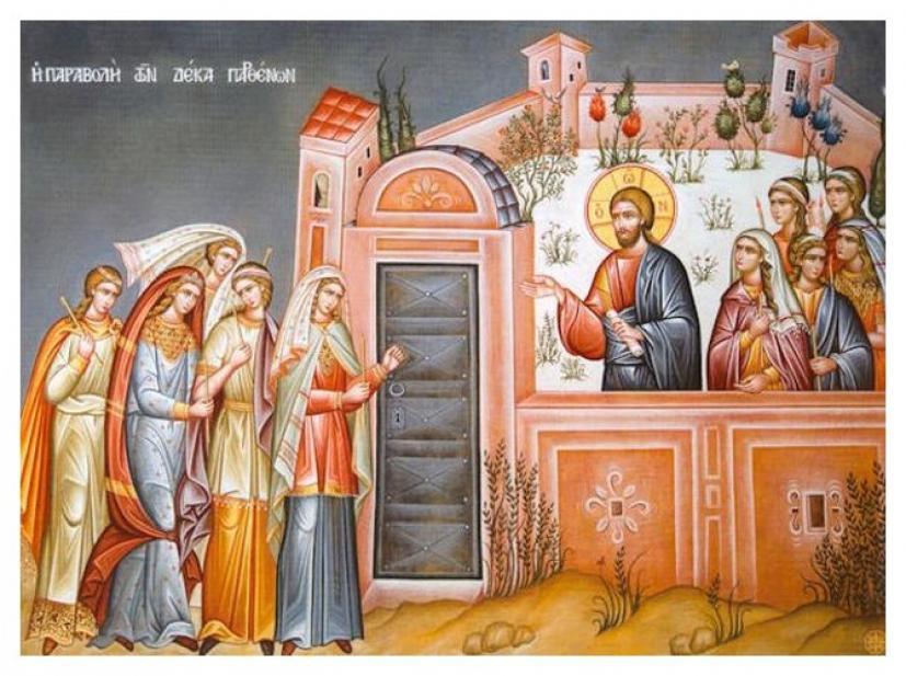 Read more about the article Πότε θα έλθει ο Νυμφίος σύμφωνα με την παραβολή των 10 Παρθένων