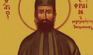 Σήμερα εορτάζει ο Άγιος Εφραίμ – Ο θαυματουργός Άγιος της Νέας Μάκρης