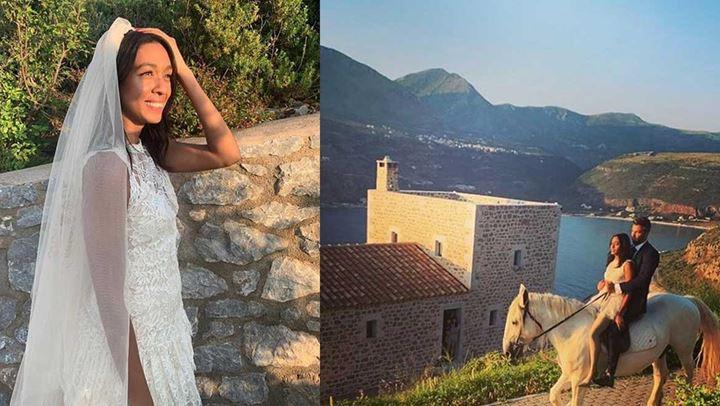 Θοδωρής Θεοδωρόπουλος: Παντρεύτηκε την Ινδή αγαπημένη στο Λιμένι της Μάνης! (βίντεο, φωτογραφίες)