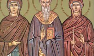 Σήμερα τιμώνται οι Άγιοι Παύλος, Ουαλεντίνη και Θέη
