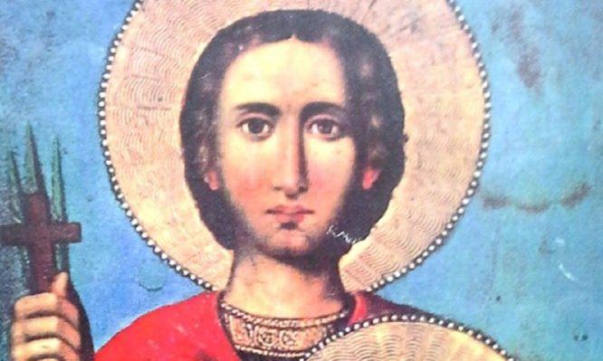 Άγιος Θεόδωρος ο Νεομάρτυρας που μαρτύρησε στα Δαρδανέλια