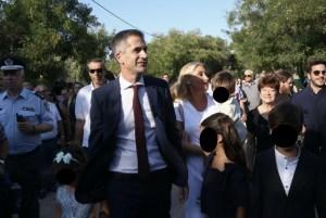 Κώστας Μπακογιάννης: Στο πλευρό του η Σία Κοσιώνη και τα παιδιά του στην ορκωμοσία του
